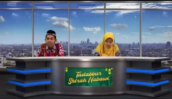 Pengajian Virtual Sirah Nabawiyah SMP Muhammadiyah 1 Depok